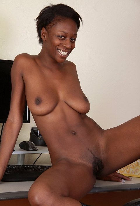 A naughty young black girl charlie rae who loves to show off 4