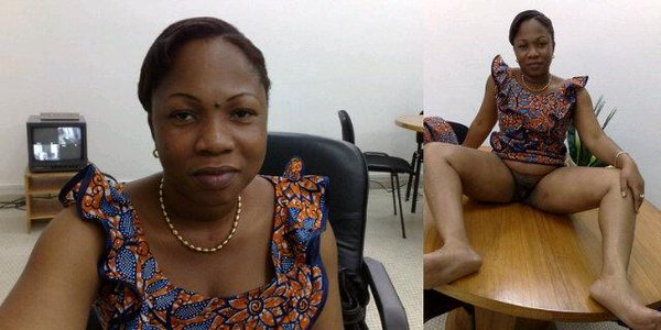 Picture of woman NAKED ON TABLE GOES VIRAL