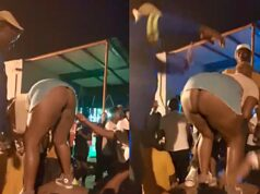 Mzansi woman Twerks Naked