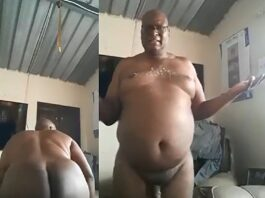 SA father twerking naked